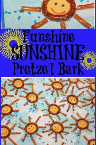 Funshine Sunshine Pretzel Bark