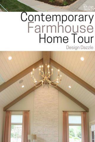 Contemporary Farmhouse Home Tour