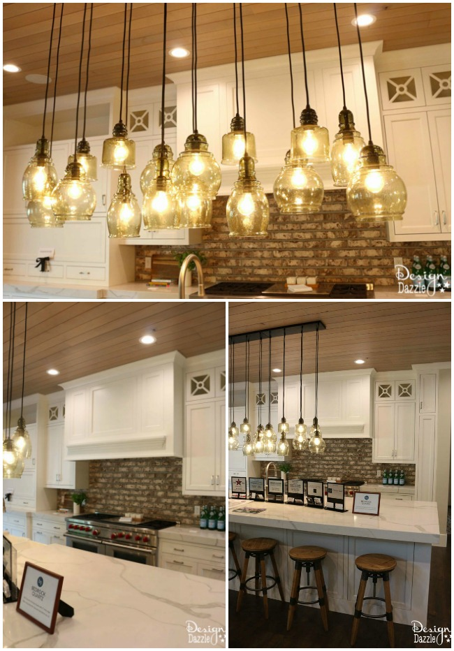 This contemporary farmhouse is to die for! So beautiful and playful! | Design Dazzle