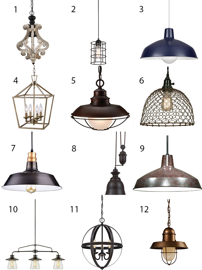 Make A Bold Statement With Farmhouse Lighting