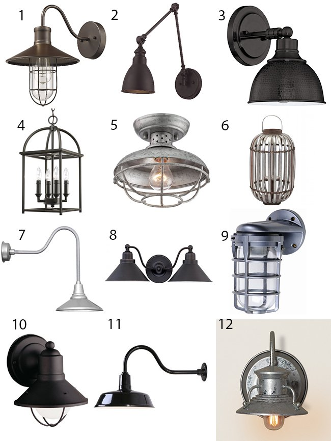 Using Farmhouse Light Fixtures To Make A Bold Statement In Your Home Is The Perfect Way