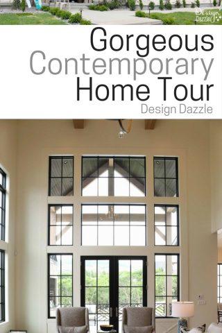 Gorgeous Contemporary Home Tour