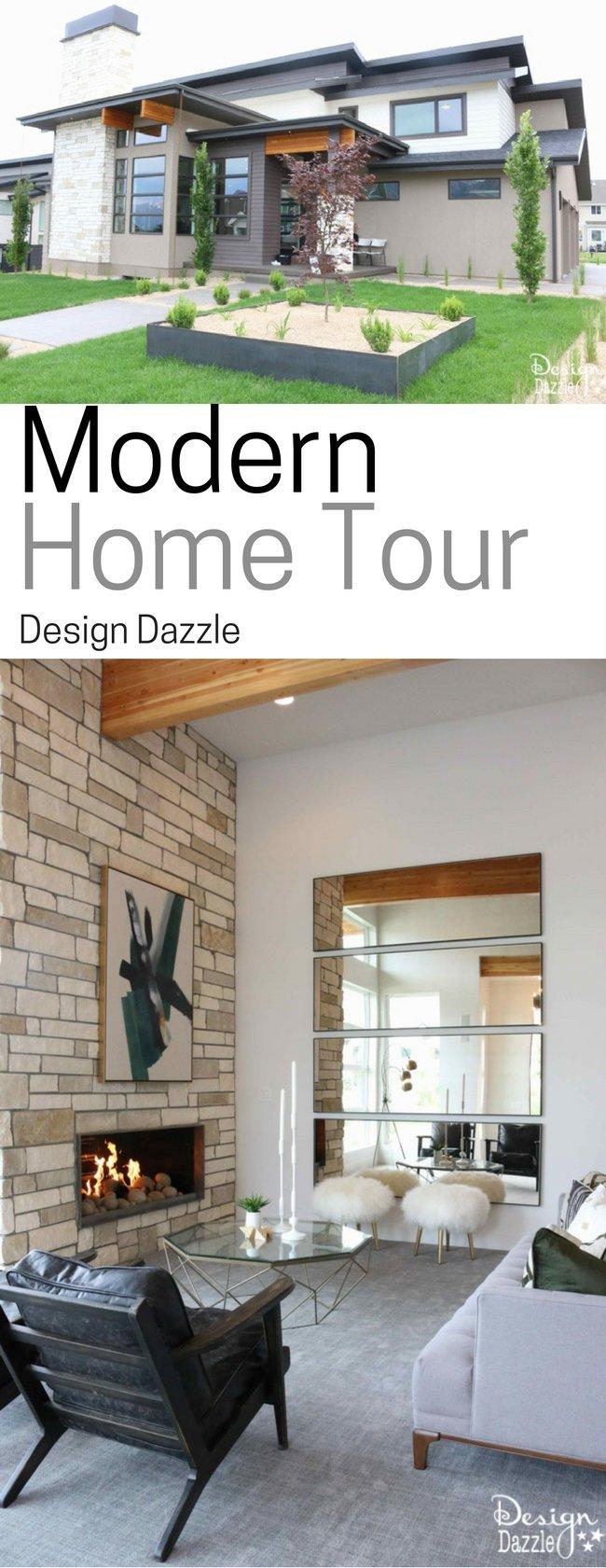 Modern Home Tour Design Dazzle