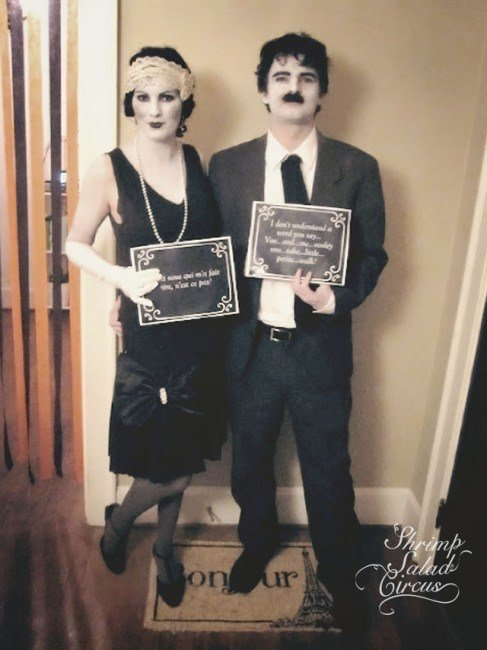 10 Creative DIY Couples Halloween Costumes - Design Dazzle