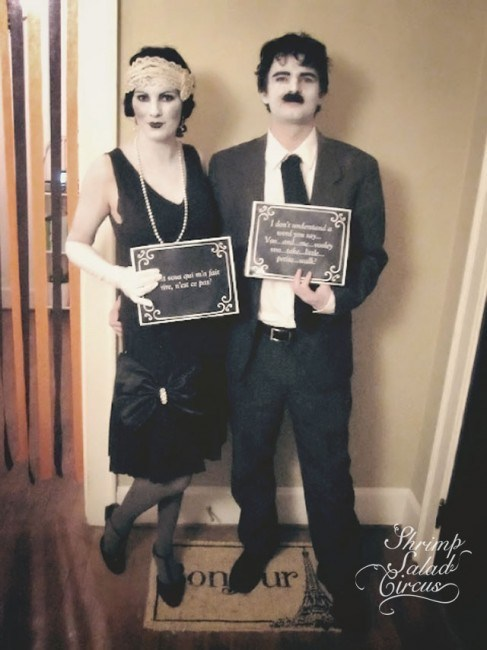 10 of the most creative and easy DIY Couples Halloween Costumes! | Design Dazzle  sc 1 st  Design Dazzle & 10 Creative DIY Couples Halloween Costumes - Design Dazzle