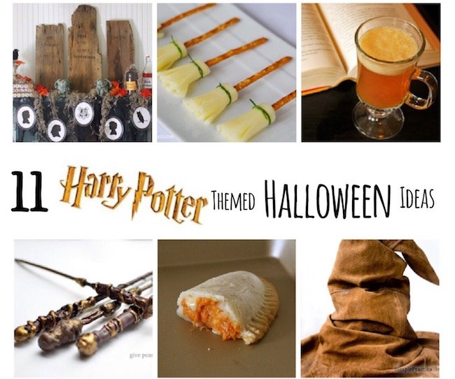 When it comes to the Halloween spirit, what better example could there be than Harry Potter? This post showcases 11 great Harry Potter themed ideas for you to try this Halloween season! | Design Dazzle