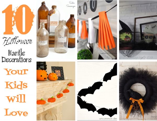 10 Halloween decorations that your kids will enjoy looking at and helping you make | Design Dazzle