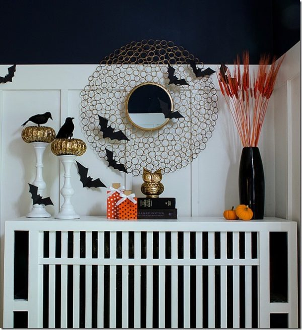 10 elegant halloween mantel ideas design dazzle Classy halloween decorations