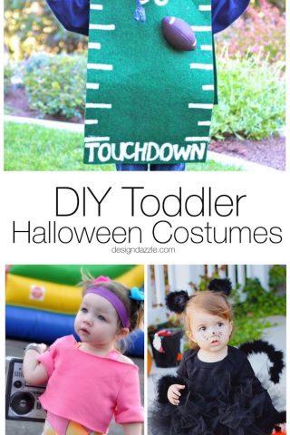 15 DIY Toddler Halloween Costumes