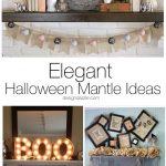 10 Elegant Halloween Mantle Ideas