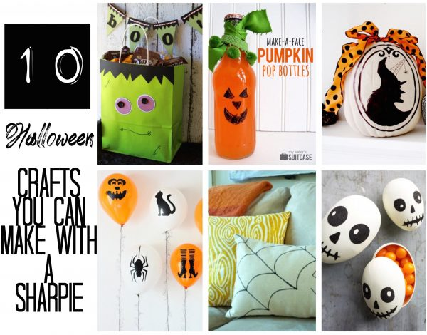 These crafts are cute and a breeze to make! The main item you need to create these crafts? The item that we all seem to always have on hand...sharpies! | Design Dazzle