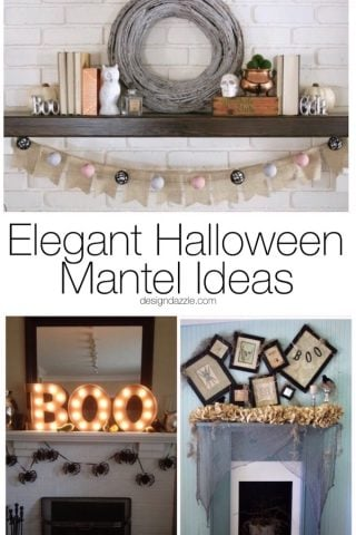 10 Elegant Halloween Mantel Ideas