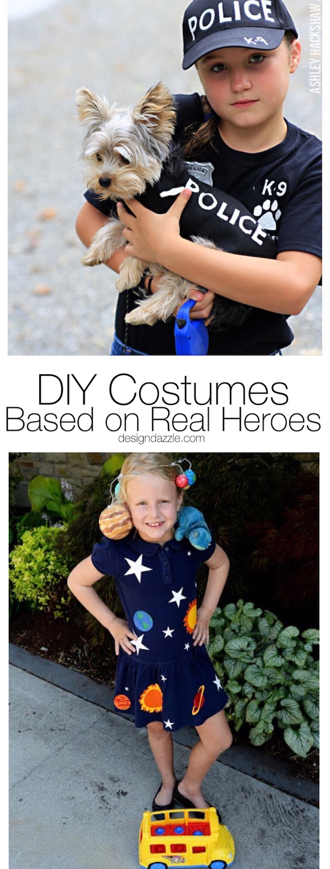 8 DIY costumes you can use this Halloween to honor real life heroes that do the things the rest of us aren't always brave or capable enough to! | Design Dazzle