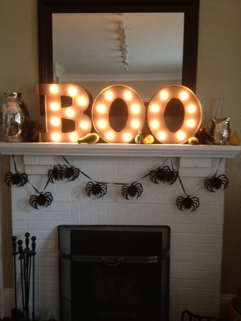 10 of my favorite halloween mantle ideas that are elegant with a dash of spooky and