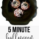 5 Minute Halloween Cupcakes