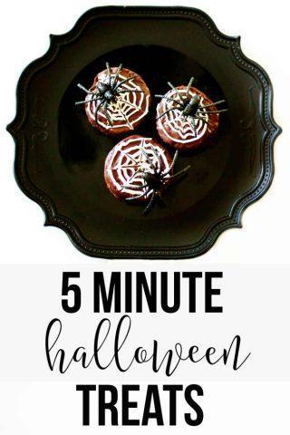 Easy and quick Halloween treats