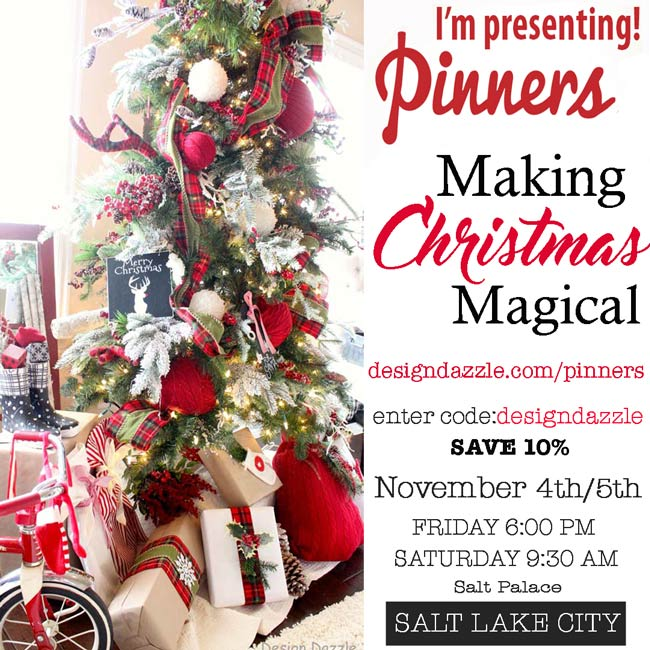 Design Dazzle shares: Making Christmas Magical at Pinners Conference!