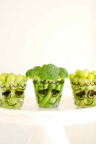 5 Minute Healthy Halloween Treats