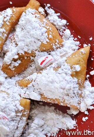 Candy Cane Beignets