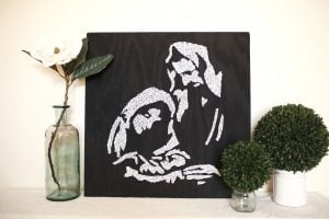 String Art Nativity