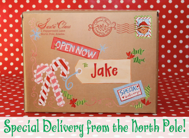 Special Delivery from the North Pole | Christmas Printables Set | printables for Christmas | Christmas fun | Christmas decor | decorating for Christmas || Design Dazzle #christmasprintables