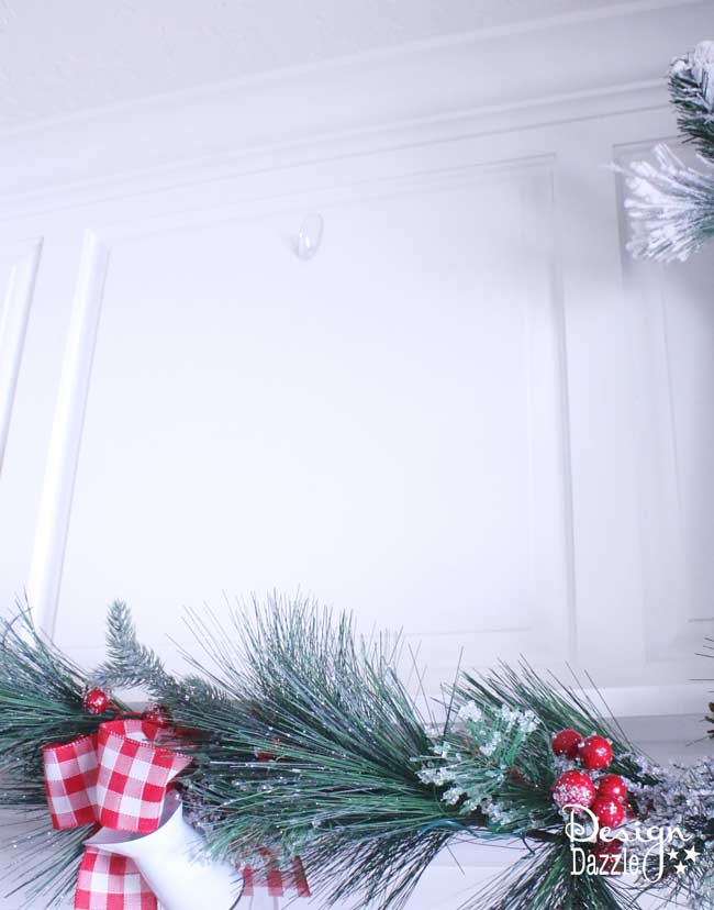Command™ Brand strips used to hang decor