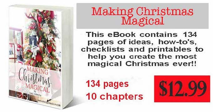 "Do you want an organized, calm, joyful and fun Christmas? Then my new ebook, ""Making Christmas Magical"", will help you do just that! 