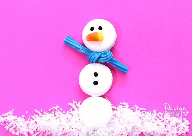 oreo-snowman