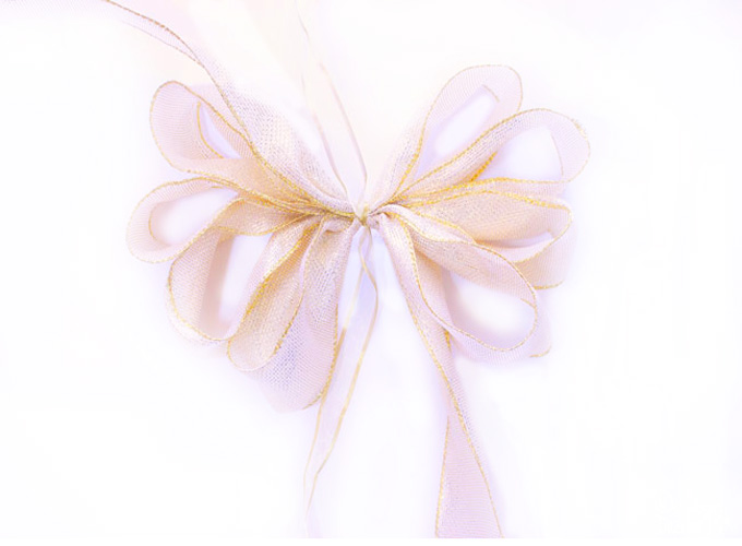 How to tie a simple bow | Design Dazzle