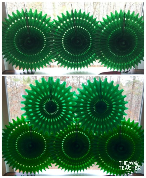 christmas-tree-tissue-fans-by-the-party-teacher