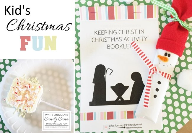 A Kid's Christmas full of fun activities, crafts and fun food