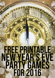 ... new years eve games new year s eve with the kids cookie baking party