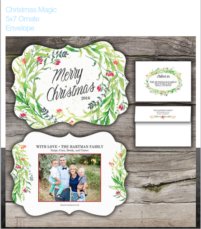 Design your Christmas cards with Pro Digital Photos! | Design Dazzle