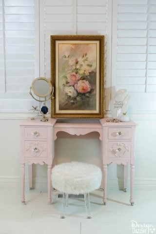 Taking a Vanity From Drab To Fab
