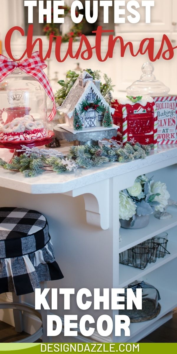 Decorating your kitchen for the holidays! Design Dazzle