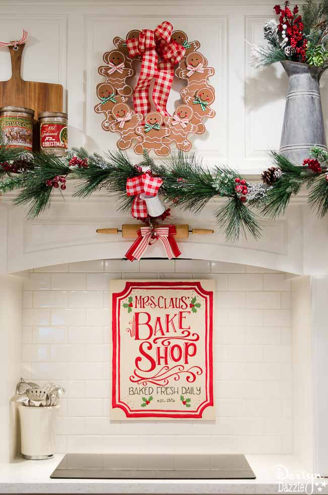 christmas home tour 2016 the kitchen christmas home decor christmas home decor - Christmas Kitchen Decor