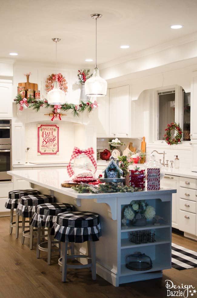 christmas home tour 2016 the kitchen christmas home decor christmas home decor