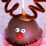 Reindeer Caramel Apples