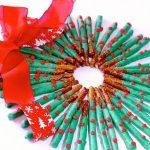 Christmas Pretzel Wreath