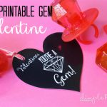 11 Adorable Free Printable Valentines- Especially For Girls!