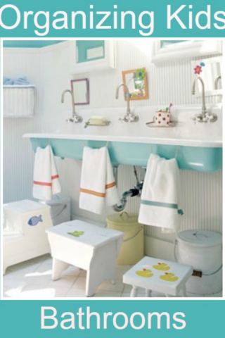 12 Fantastic Ways to Organize Kids' Bedrooms and Bathrooms