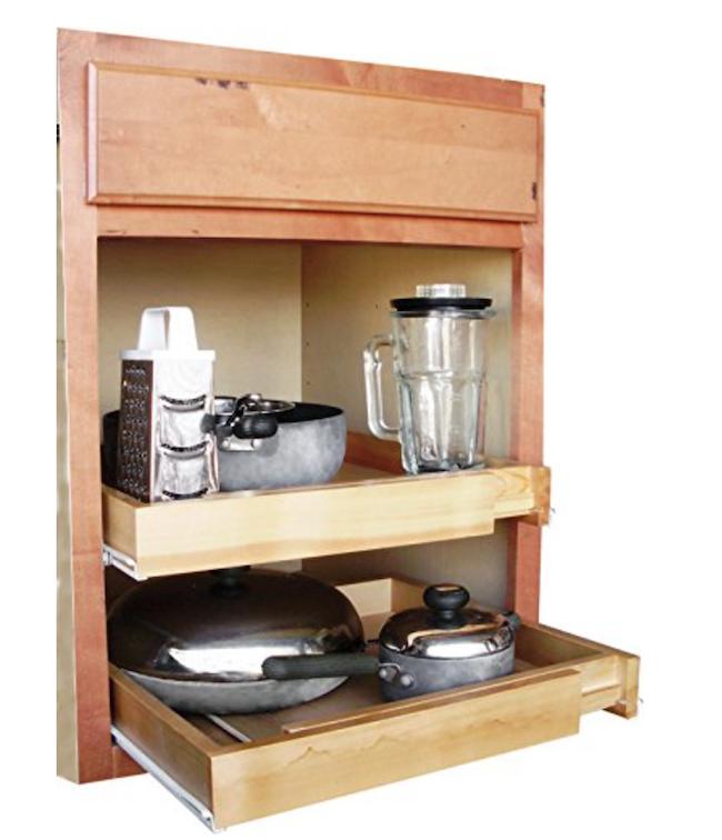 10 Kitchen Storage Solutions to help keep your kitchen organized!
