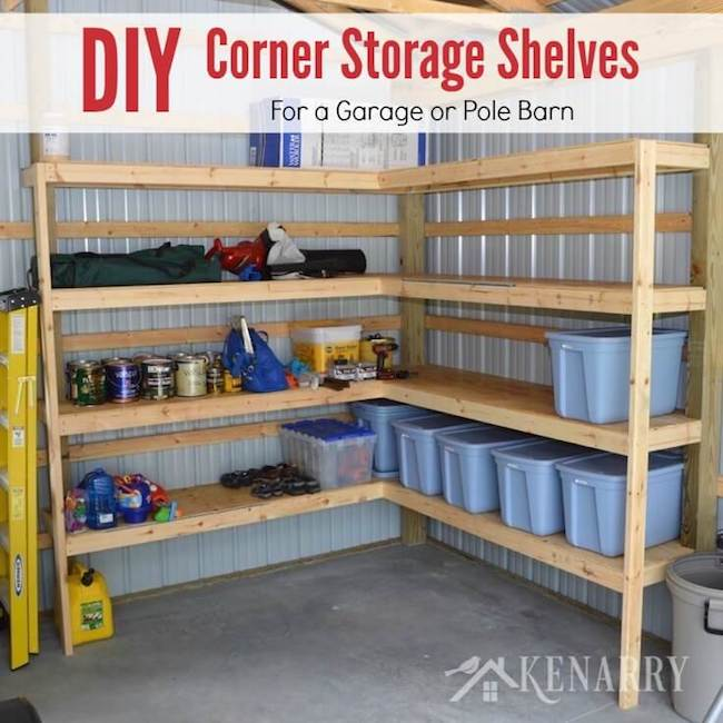 There are so many amazing storage and organization solutions for the garage, that's why I have round up 9 of my very favorites to help keep your garage neat and organized!   Design Dazzle