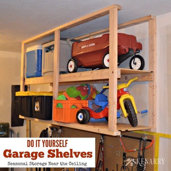 There are so many amazing storage and organization solutions for the garage, that's why I have round up 9 of my very favorites to help keep your garage neat and organized! | Design Dazzle
