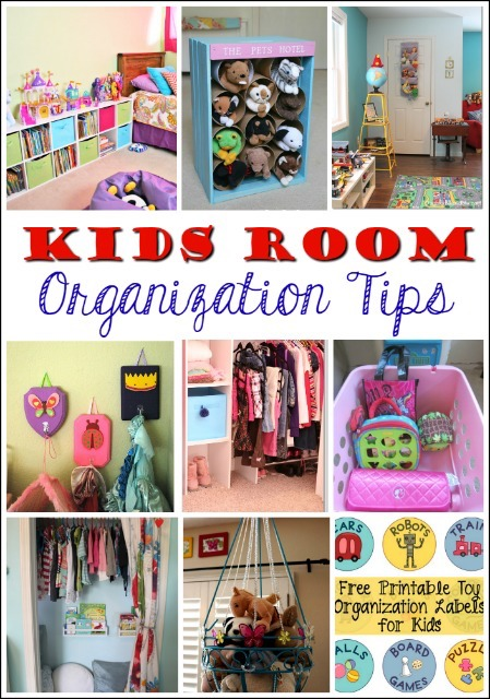8 Kids Storage And Organization Ideas: 12 Fantastic Ways To Organize Kids' Bedrooms And Bathrooms