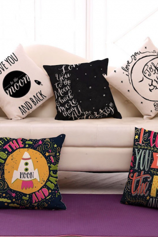 25 Inexpensive and Trendy Quote Pillow Covers