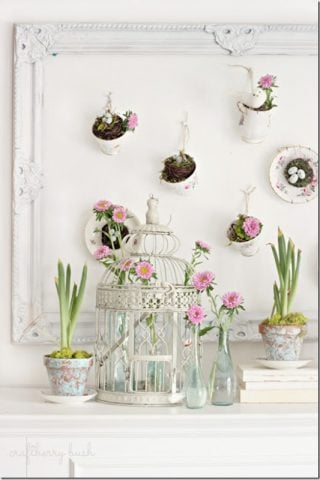 13 Spectacular Spring Mantle Ideas