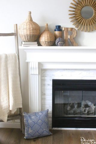 Spring Mantel Refresh