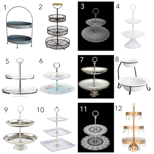 Stands can be used for multiple purposes. All 21 one of these stands are cost effective and would be a perfect addition to your home or party decor! | Design Dazzle