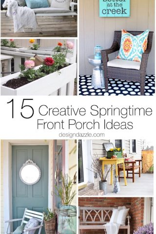 15 Creative Springtime Front Porch Ideas